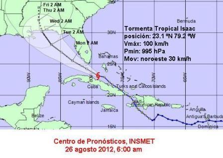 Aviso de Ciclón Tropical.